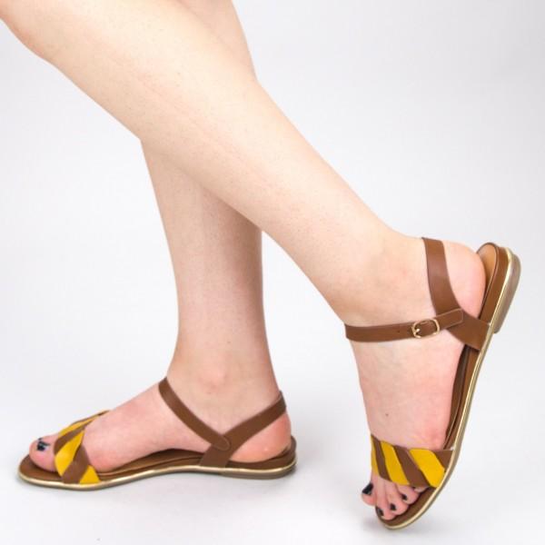 Sandale Dama CS50 Brown Mei