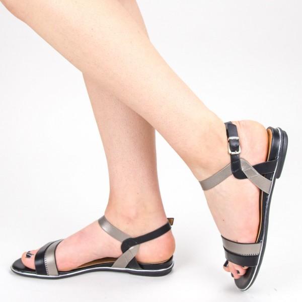 Sandale Dama CS52 Black Mei