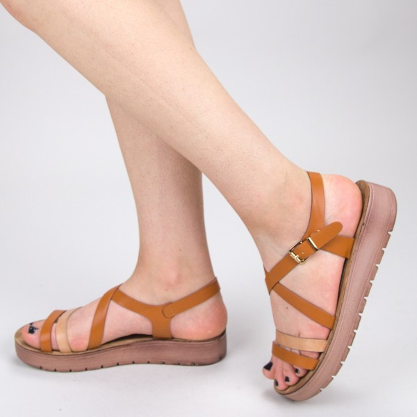 Sandale Dama CS32 Brown Mei