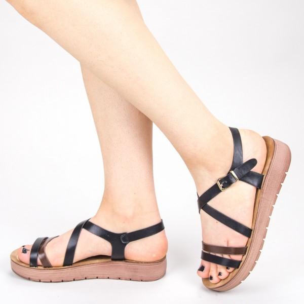 Sandale Dama CS32 Black Mei