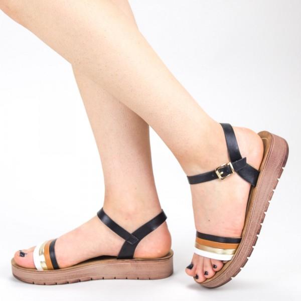 Sandale Dama CS33 Black Mei