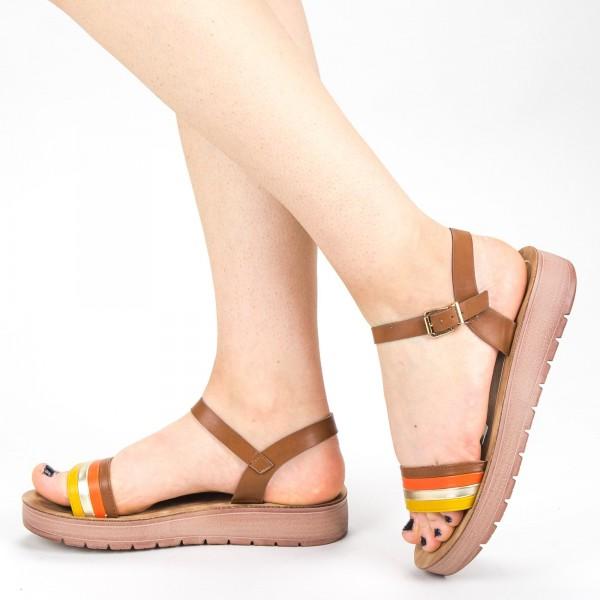Sandale Dama CS33 Brown Mei