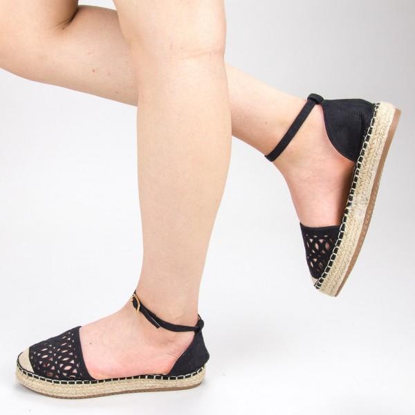 Pantofi Casual Dama HJ9 Black Mei