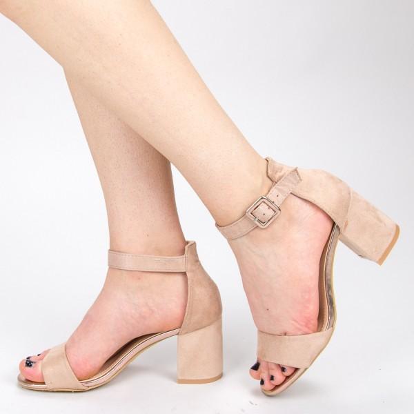 Sandale Dama cu Toc YBS39 Pink Mei