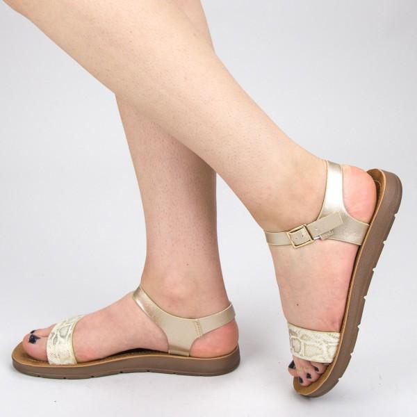 Sandale Dama WS107 Beige Mei