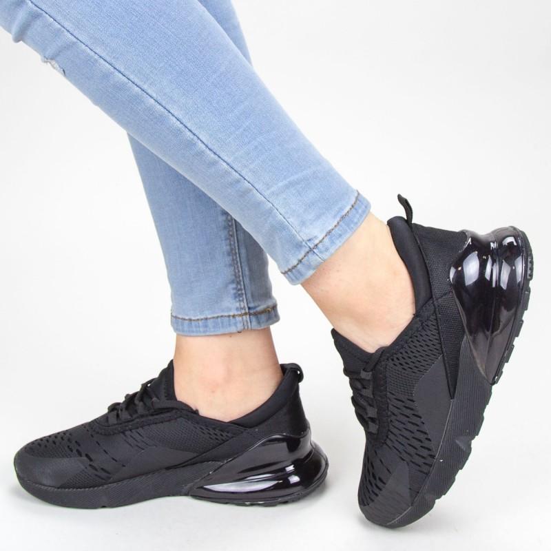 Pantofi Sport Dama YKQ52A Black Mei