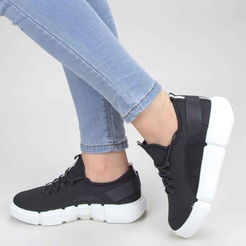 Pantofi Sport Dama YKQ69 Black Mei