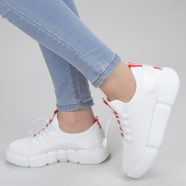 Pantofi Sport Dama YKQ69 White Mei