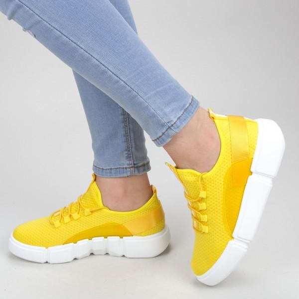 Pantofi Sport Dama YKQ69 Yellow Mei