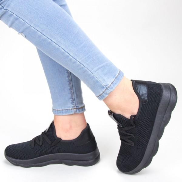 Pantofi Sport Dama YKQ71 Black Mei