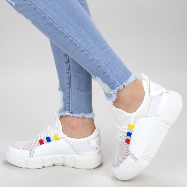 Pantofi Sport Dama GB73 White Mei