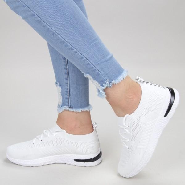 Pantofi Sport Dama KDN1A White Mei