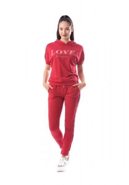 Compleu Dama COMPLEU 8229 LOVE Rosu Adrom