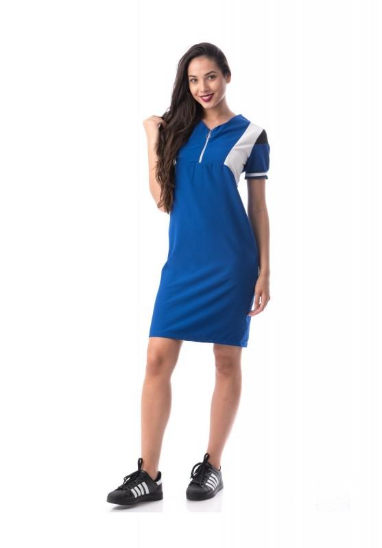 Rochie Dama ROCHIE 8286 Albastru Adrom