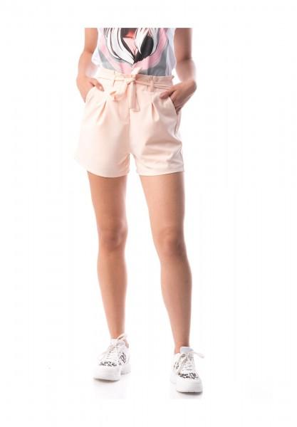 Pantaloni Scurti Dama PANTALON F136 Roz-Deschis Adrom