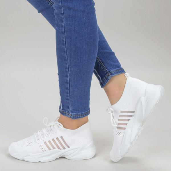 Pantofi Sport Dama YQ58 White Mei