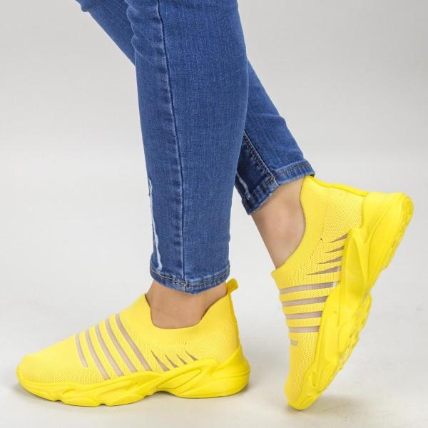 Pantofi Sport Dama YQ59 Yellow Mei