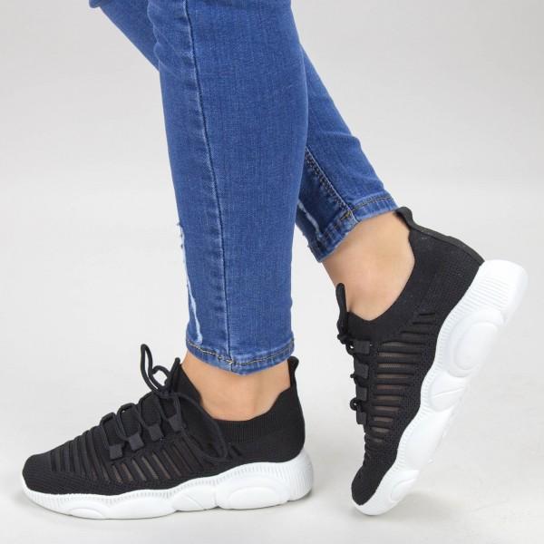 Pantofi Sport Dama YQ60 Black Mei