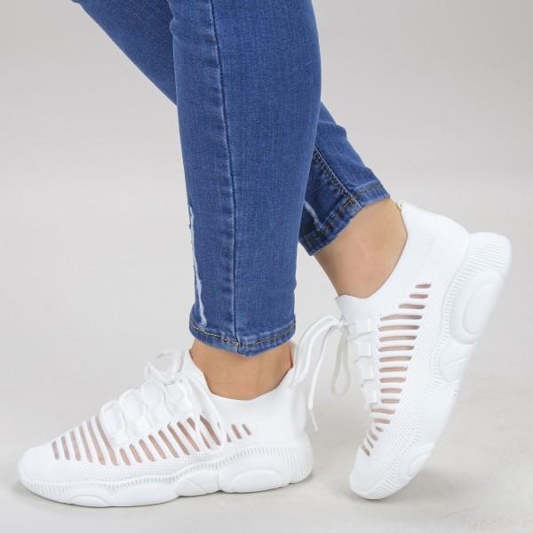 Pantofi Sport Dama YQ60 White Mei