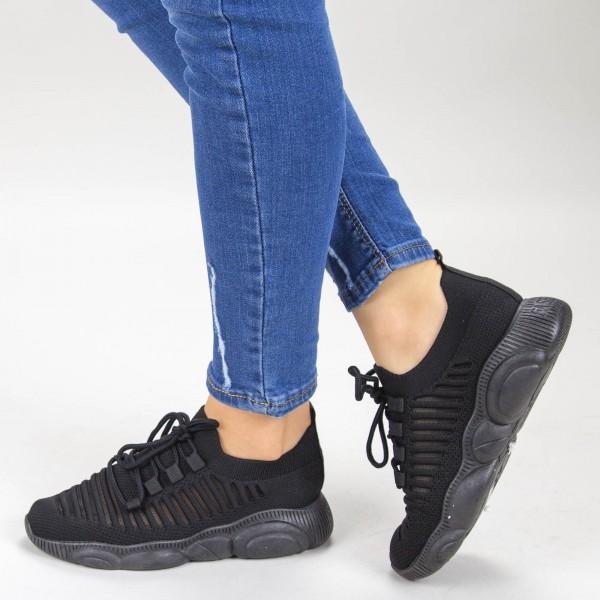 Pantofi Sport Dama YQ60A Black Mei