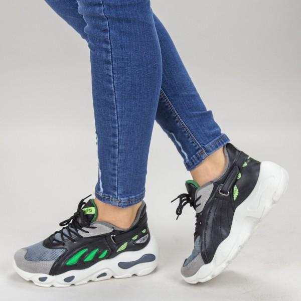 Pantofi Sport Dama H001-1 Green Sport Fashion