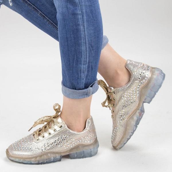 Pantofi Sport Dama JYP2 Gold Mei