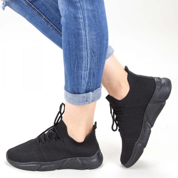 Pantofi Sport Dama KSQ1 All-Black Mei