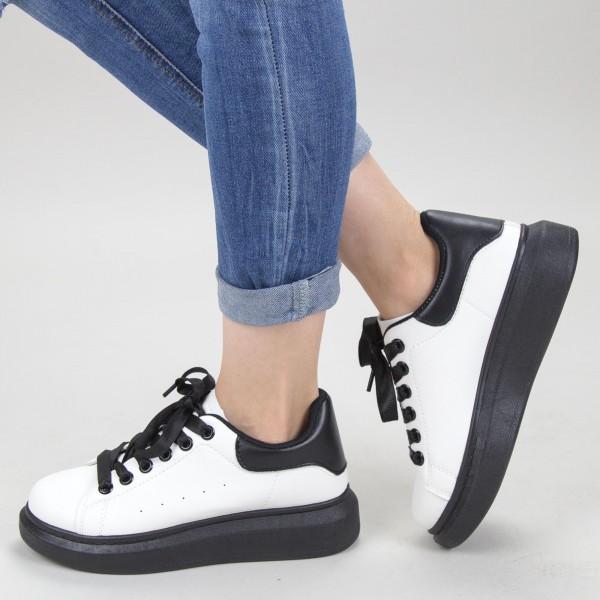 Pantofi Sport Dama YKQ136 White Mei