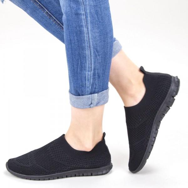 Pantofi Sport Dama YKQ152 Black Mei
