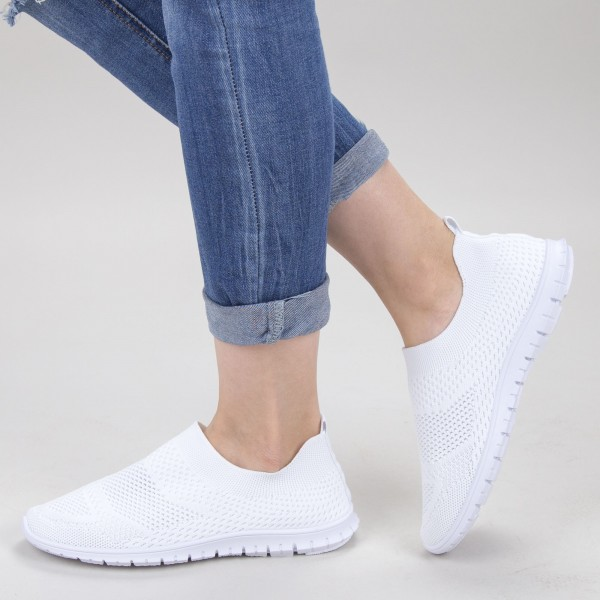 Pantofi Sport Dama YKQ152 White Mei