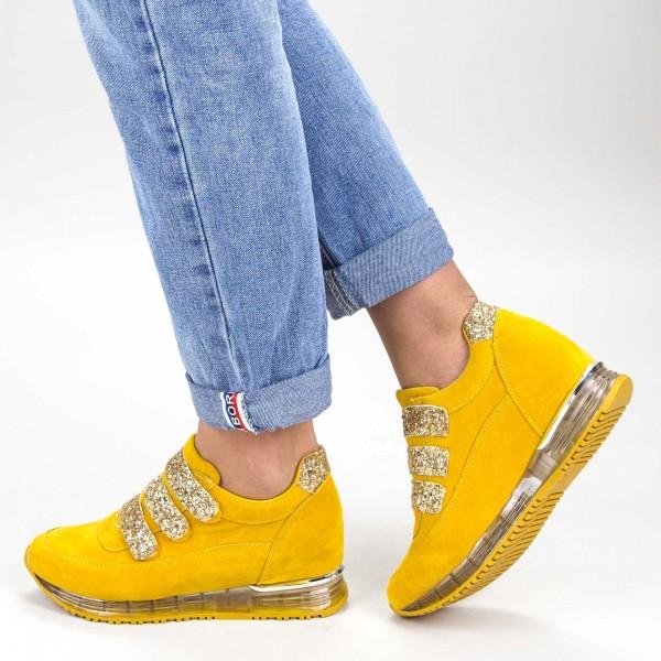 Pantofi Sport Dama SZ211 Yellow Mei