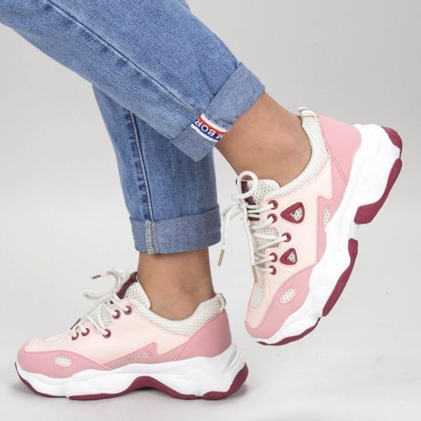 Pantofi Sport Dama HZL1 Pink Mei