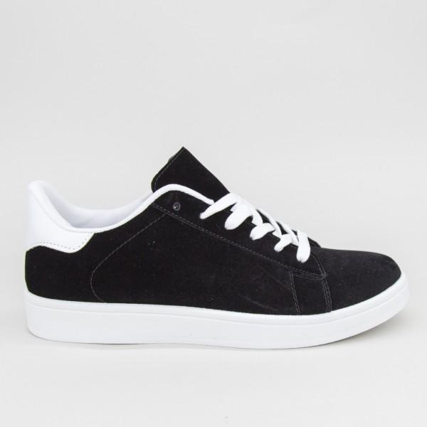 Pantofi Sport Barbati YKQ118 Black-white Mei
