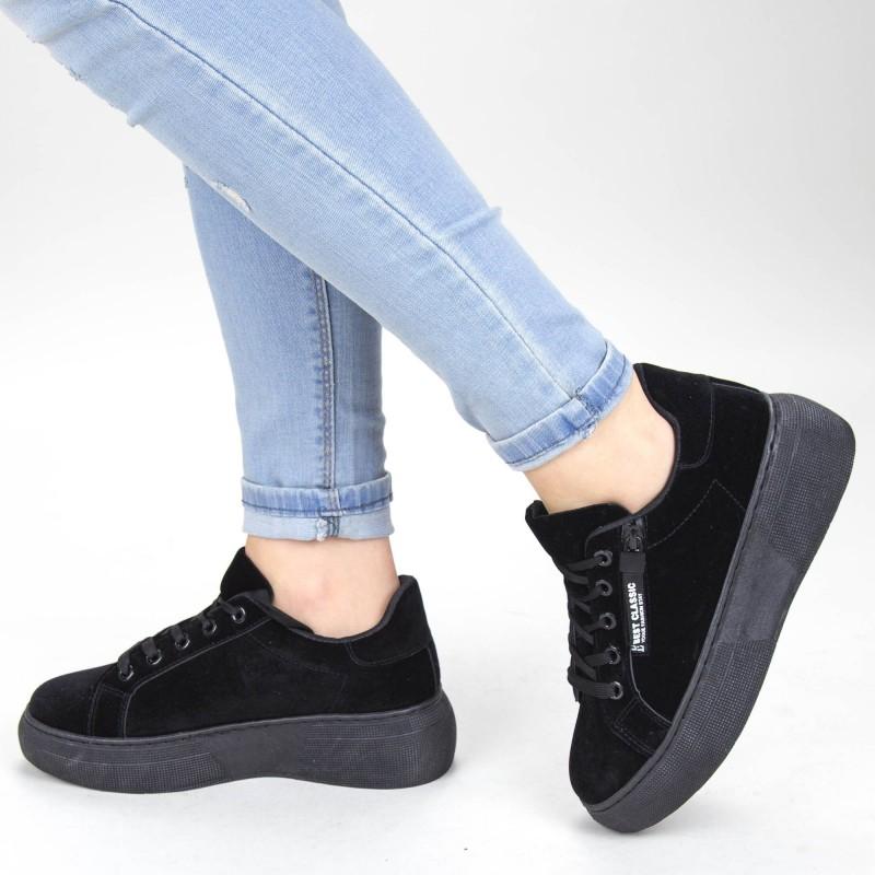 Pantofi Sport Dama YKQ102 Black Mei