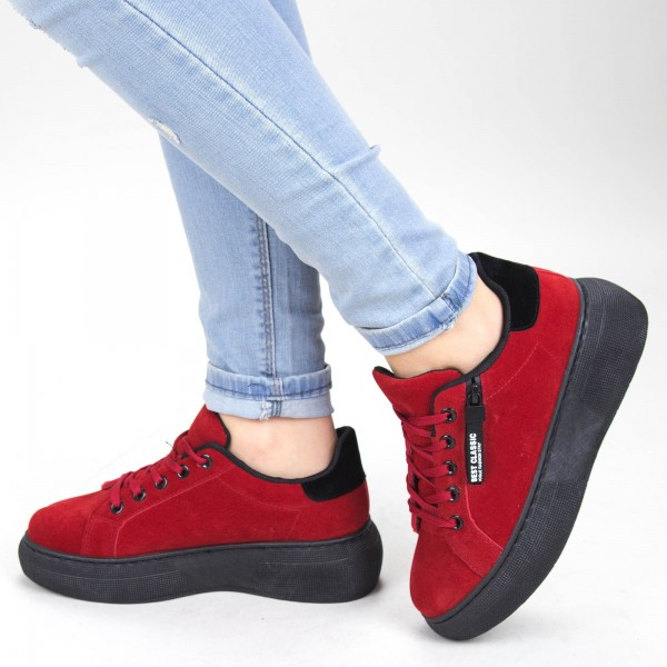 Pantofi Sport Dama YKQ102 Red Mei