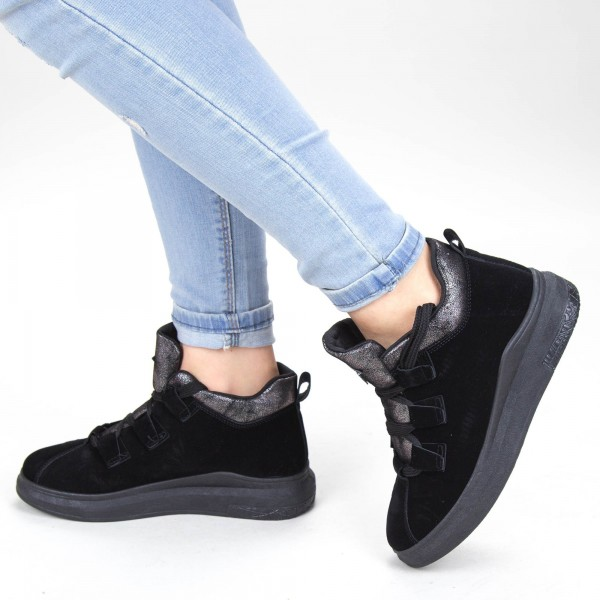 Pantofi Sport Dama YKQ103 Black Mei