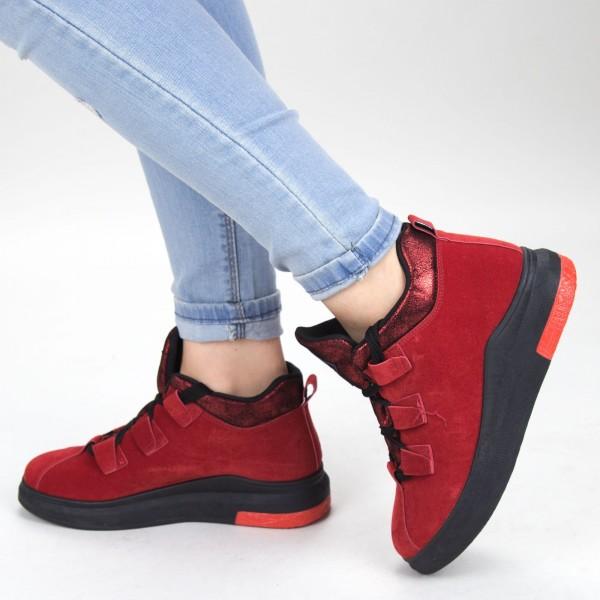 Pantofi Sport Dama YKQ103 Red Mei