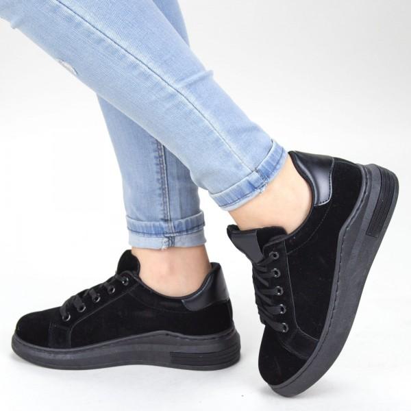 Pantofi Sport Dama YKQ105 Black Mei