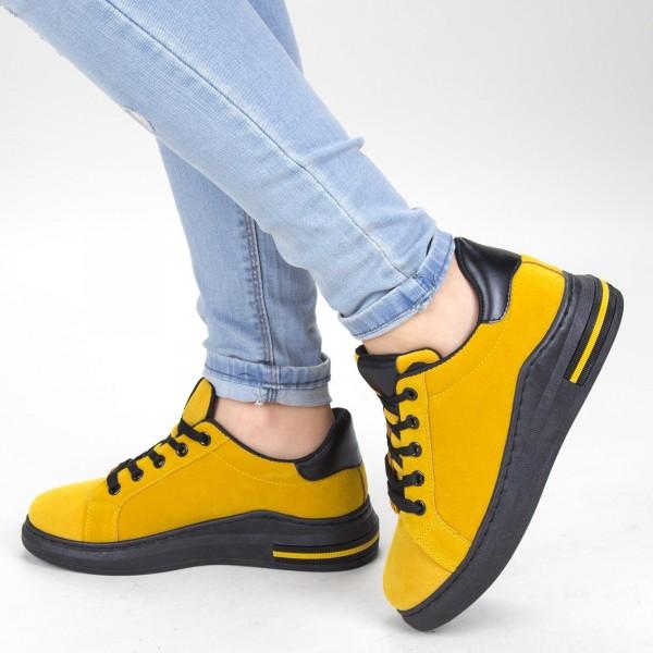 Pantofi Sport Dama YKQ105 Yellow Mei