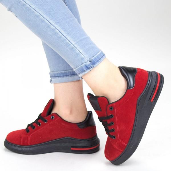 Pantofi Sport Dama YKQ105 Red Mei