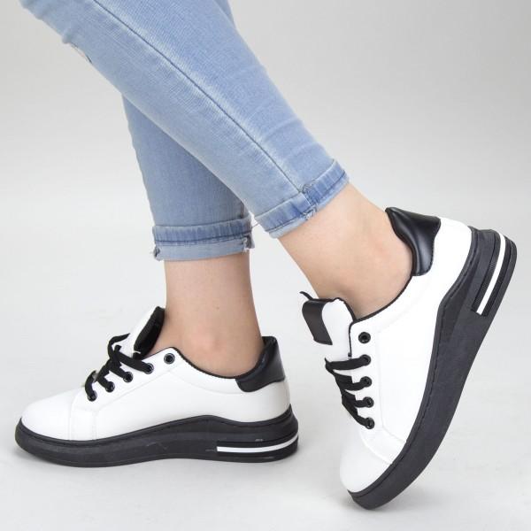 Pantofi Sport Dama YKQ105 White Mei