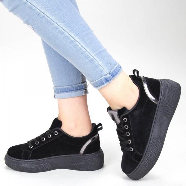 Pantofi Sport Dama YKQ152A Black Mei