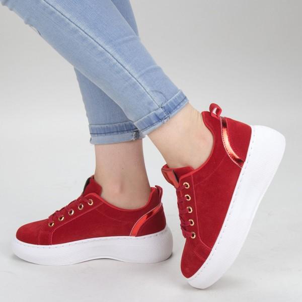 Pantofi Sport Dama YKQ152A Red Mei