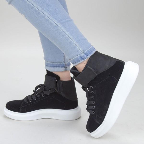 Pantofi Sport Dama YKQ156 Black Mei