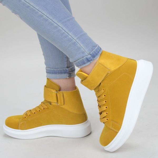 Pantofi Sport Dama YKQ156 Yellow Mei