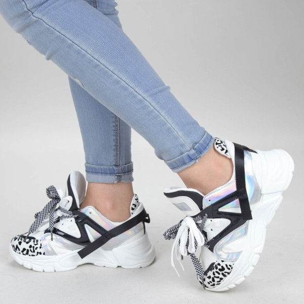 Pantofi Sport Dama HMM13 White Mei