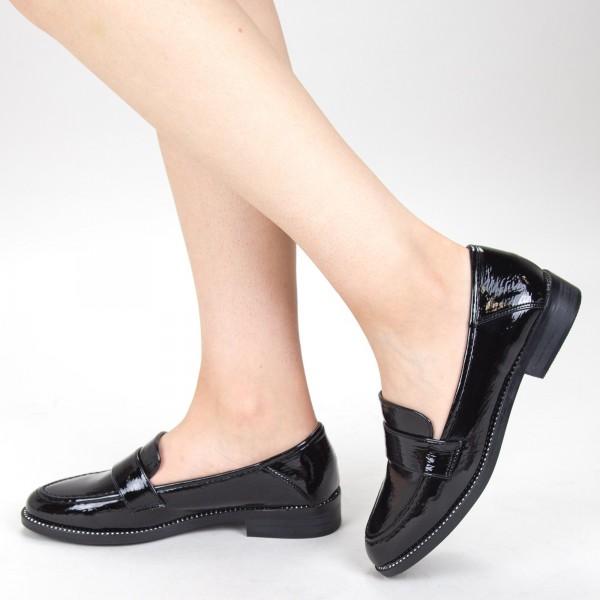 Pantofi Casual Dama GH19121 Black Mei