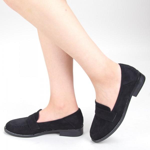 Pantofi Casual Dama GH19121A Black Mei