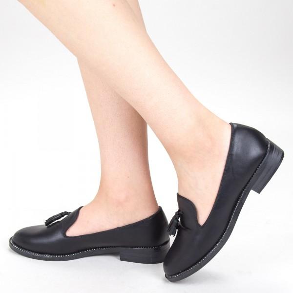 Pantofi Casual Dama GH19122A Black Mei