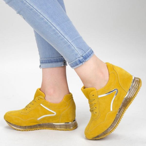 Pantofi Sport Dama SZ213 Yellow Mei